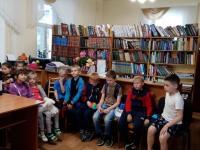 """Поход в Детскую городскую библиотеку воспитанников площадки """"Весельчаки"""""""""""