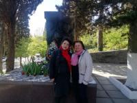 Возложение цветов к Памятнику воинам-освободителям
