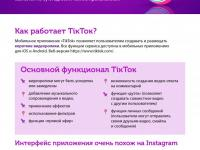 Особенности TikTok